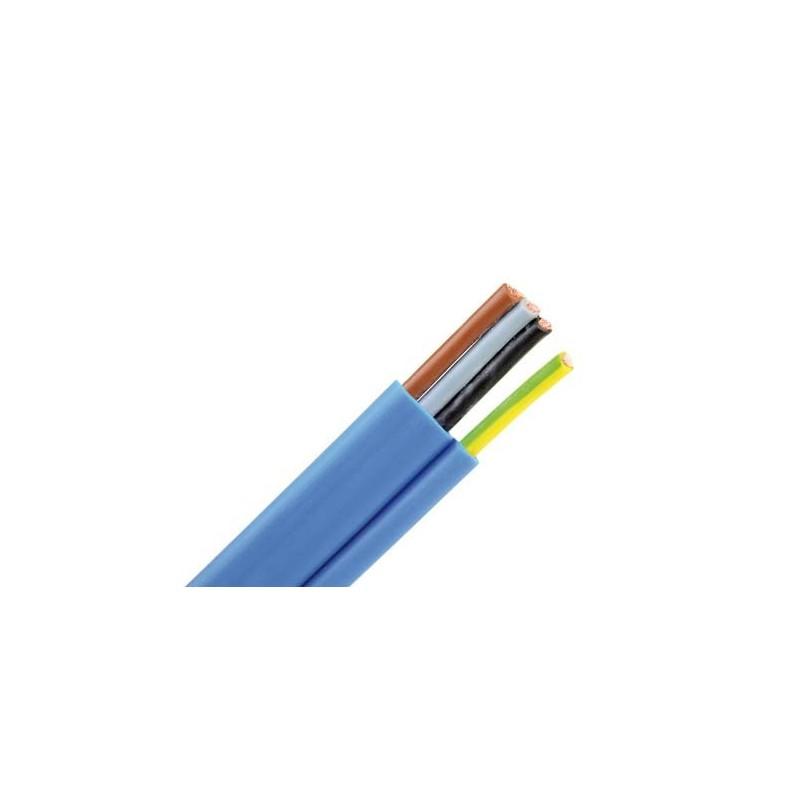 Accessoire atec france cable plat bleu pour pompes immerg es - Cable electrique plat ...